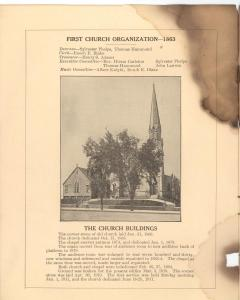 0374. First Congregational Church Fiftieth Anniversary page