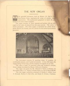 0375. First Congregational Church Fiftieth Anniversary page